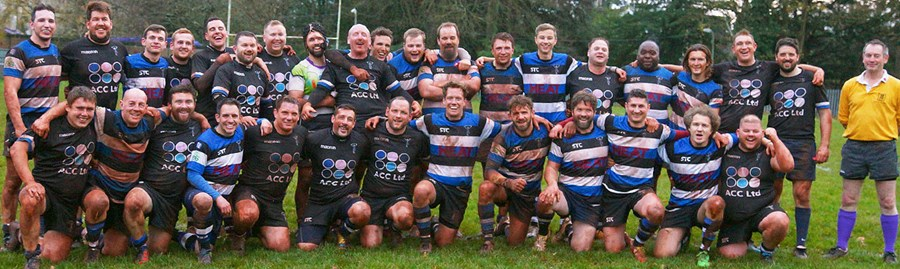Bristol Harlequins Inter Club Game Team Photo